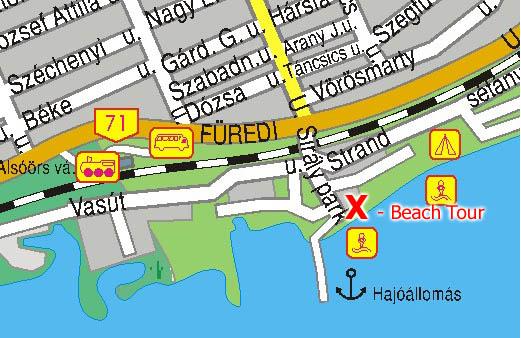 alsóörs térkép Balaton Beach Tour Versenynaptára alsóörs térkép